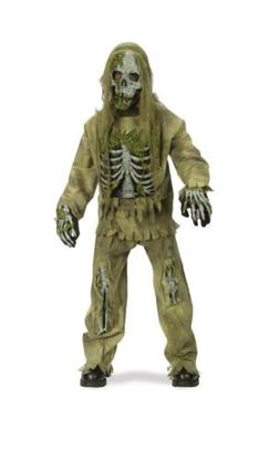 Kids Skeleton Zombie Monster Costume - Fun World - No Gloves