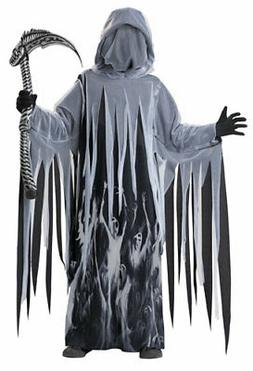 Kids Soul Taker Grim Reaper Boys Halloween Costume