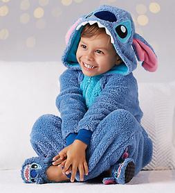 83d00492e740 Kids Disney Store Lilo & Stitch Plush Bodysuit Costume & Sli