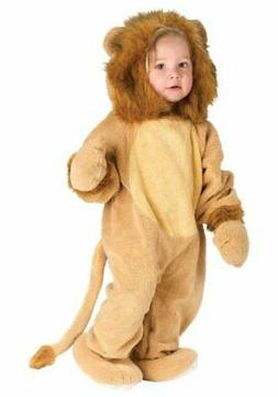 Fun World Kids' Toddler Baby's Cuddly Lion Infant Costume, S