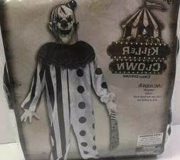 Fun World Killer Clown Costume Child Youth Size Medium 8-10
