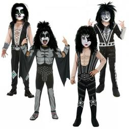 KISS Costume Kids Halloween Fancy Dress