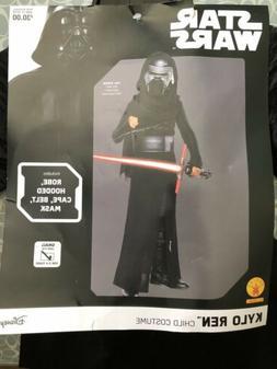 Star Wars Kylo Ren Child Halloween Costume Small Size 4-6 Fo