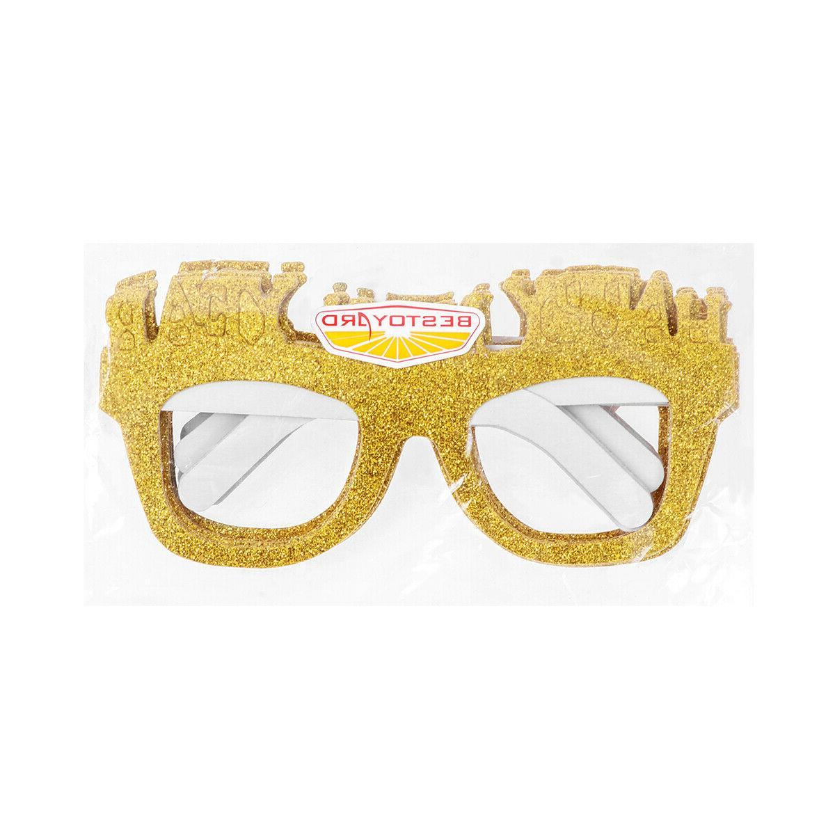 BESTOYARD 10pcs Greative Glitter Eyeglasses Glasses Frame fo