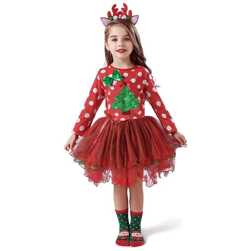 2-6T <font><b>Dress</b></font> <font><b>Kids</b></font> Year <font><b>Costume</b></font> Baby Clothes Tree Clothing