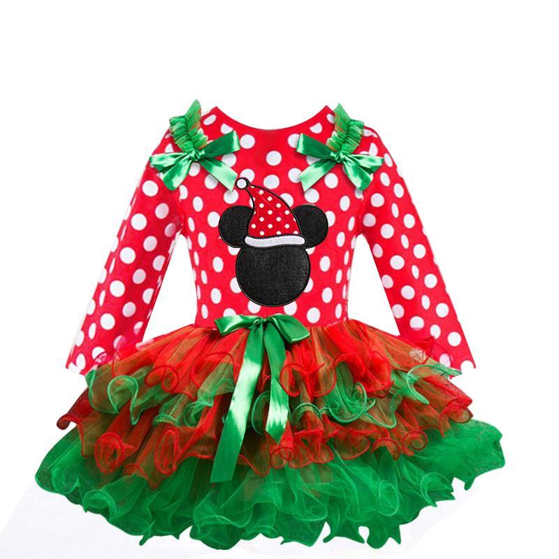 2-6T Santa <font><b>Dress</b></font> Party New Year Snowman Tree