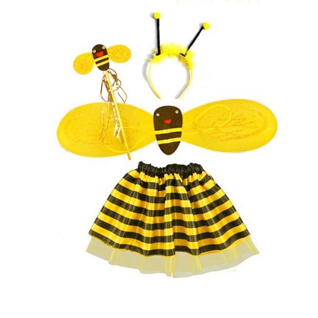 4pc bumble bee honey girls font b