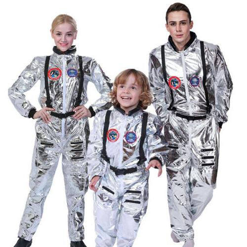 adult astronaut jumpsuit costume cosplay space suit