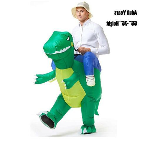 Adult Kids Inflatable Alien Me Costume Halloween