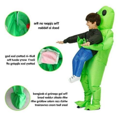 Adult Kids Alien Dinosaur Me Up Halloween