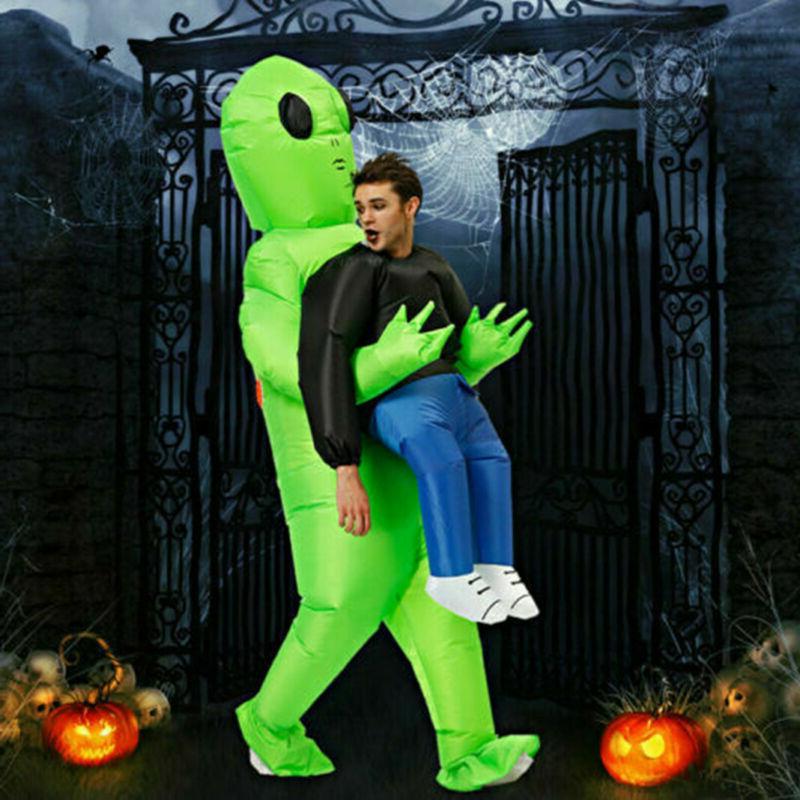 Alien Costume Funny Halloween Cosplay #US