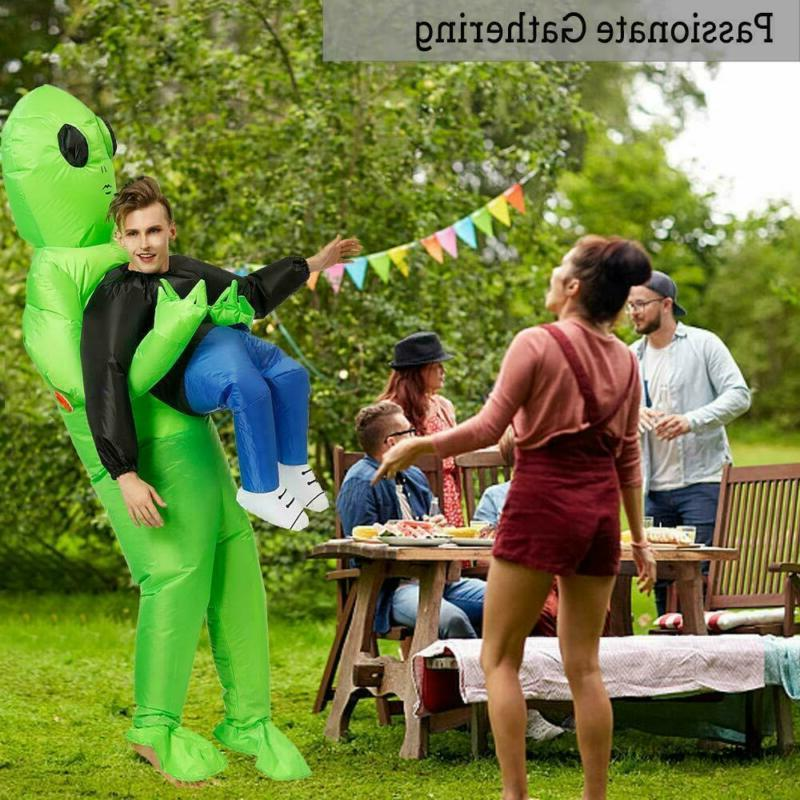 Adult Inflatable Alien Costume Cosplay Party Suit