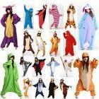 Adult Pajamas Nightclothes Cosplay Costumes Animal Kid's Sle