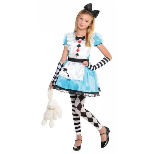 alice in wonderland costume kids halloween fancy