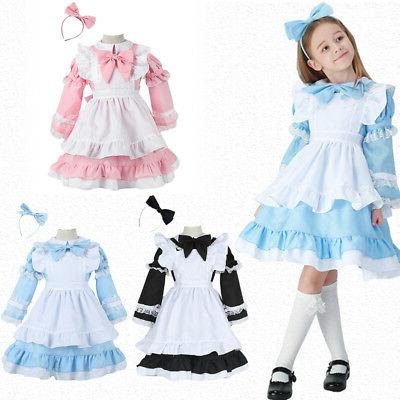 alice in wonderland maid costume mother daughter