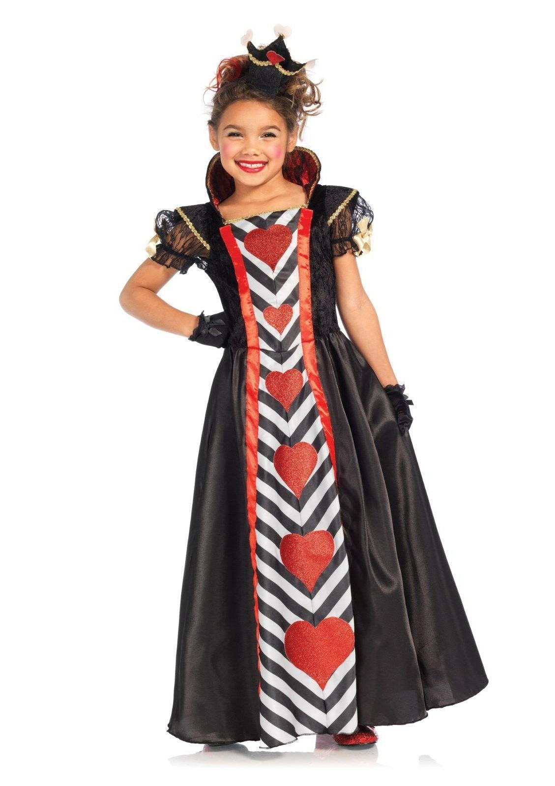 alice wonderland royal queen of hearts child