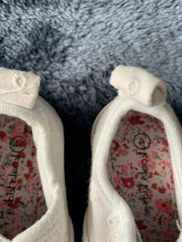 Koala Kids Baby Shoes White Velcrove