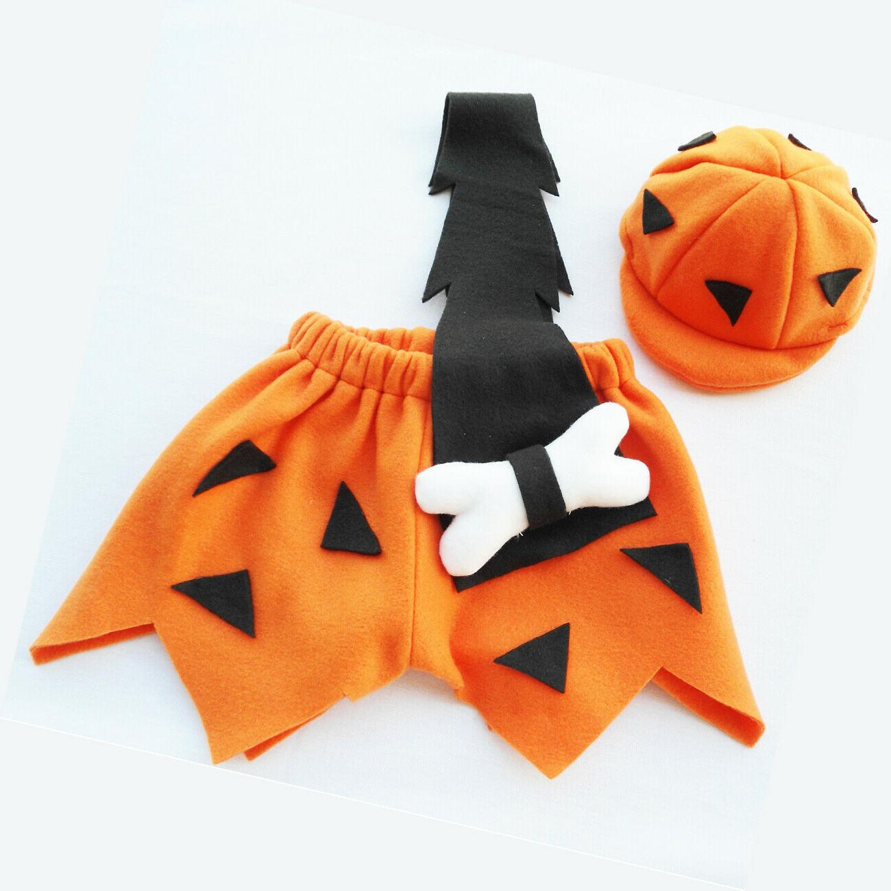 Bambam Flintstone Boys Halloween Costume size 3T /