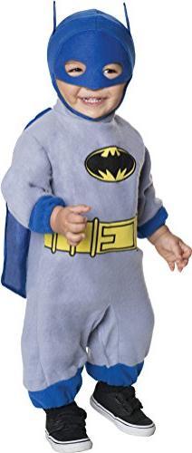 Batman The Brave And The Bold Romper Blue Batman, Blue Print
