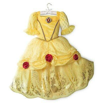 belle costume for kids size 9 10