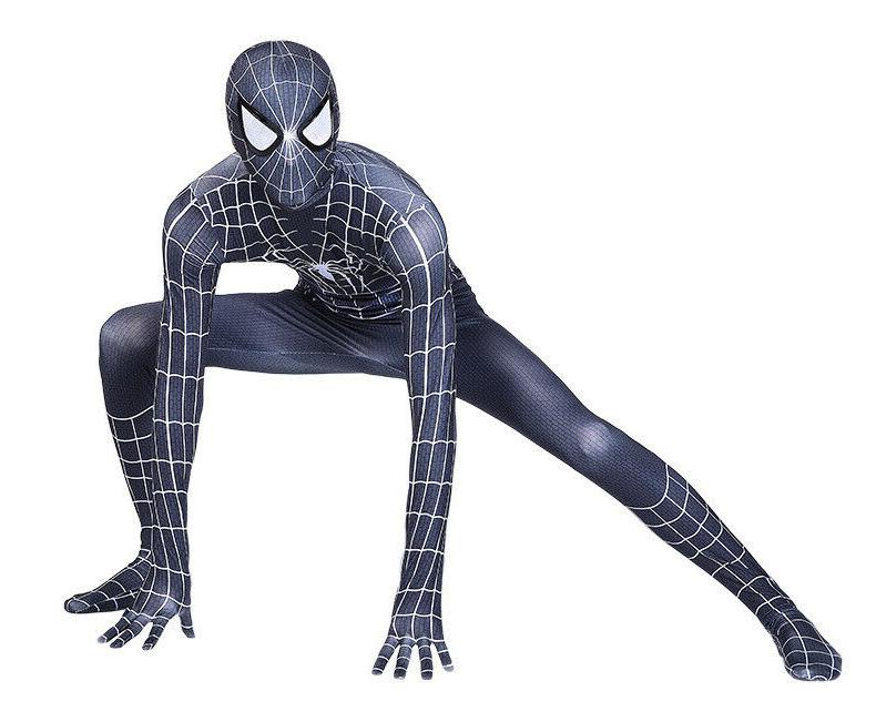 Costume Spiderman Zentai Suit Jumpsuit