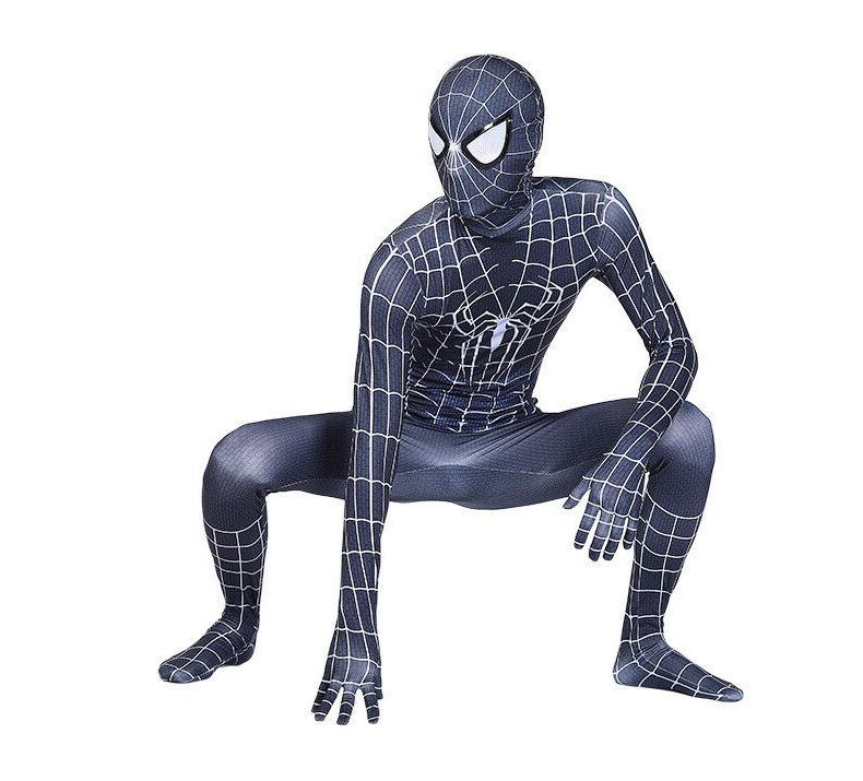 Black Costume Spiderman Suit