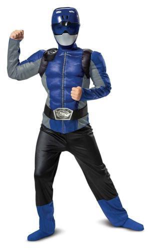 Blue Ranger Beast Saban Morpher Mask Muscle size M 7/8 Kids