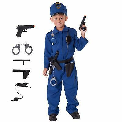 Boy Kids Police Cop Officer piece