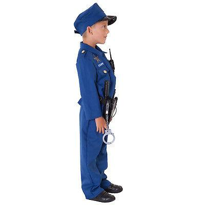 Kids Cop Officer Toys 9 piece set