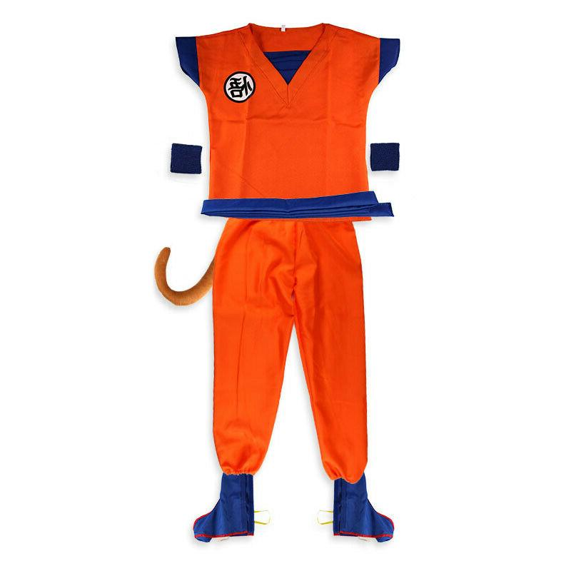 Boys Anime Z Set Halloween Party Up Outfit