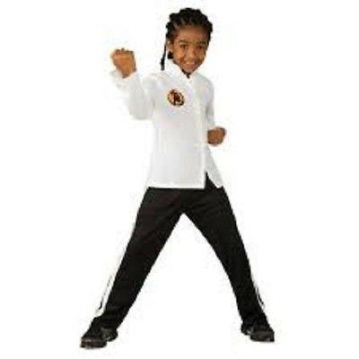 boys child licensed deluxe karate kid costume