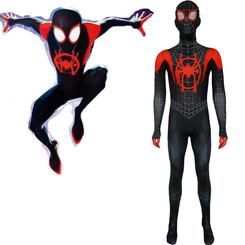 Boys Kids Costume Cosplay Fancy Zentai Suit Jumpsuit