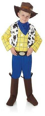 Boys Toy Cowboy Costume Kids Movie TV Sheriff Fancy Dress Ha
