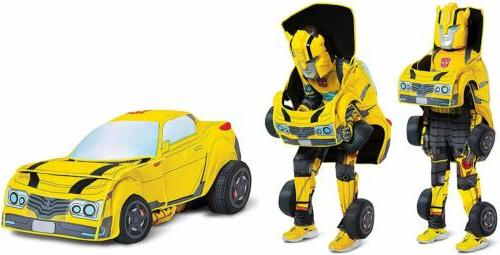 bumblebee converting deluxe transformers fancy dress up