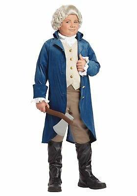 california costumes 00429 child george washington