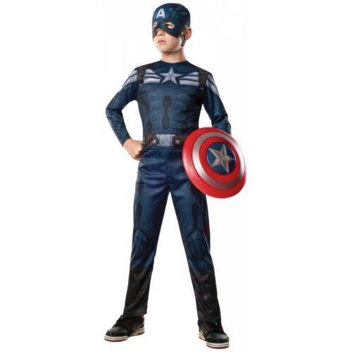 captain america costume kids halloween fancy dress