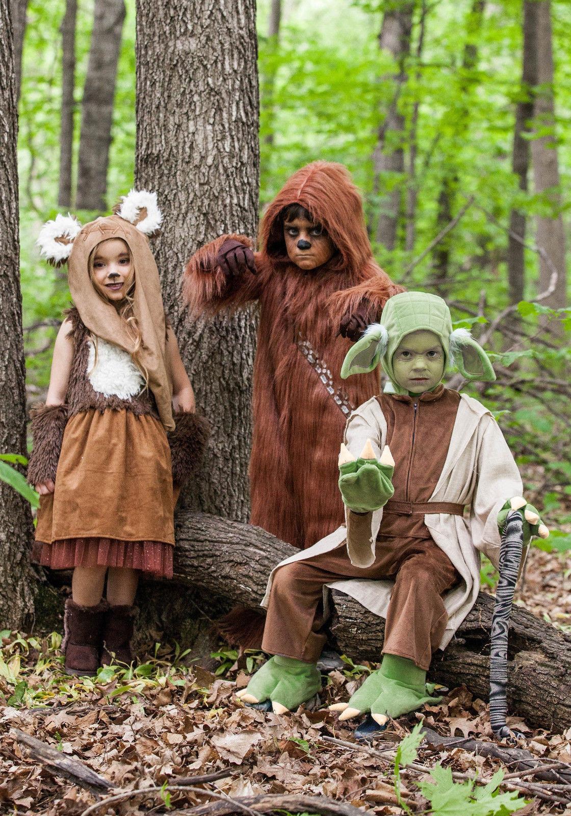 Chewbacca Wookie Chewie PREMIUM Deluxe Star Wars Child Costume 4T 3