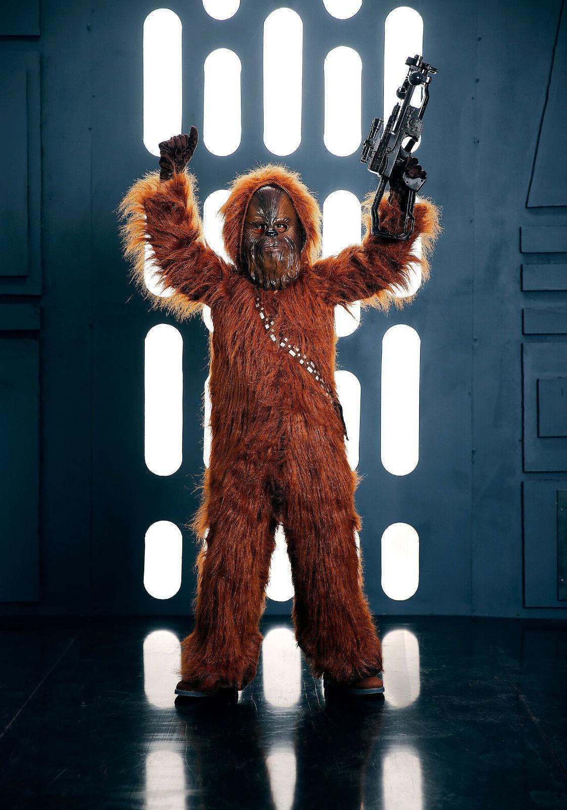 Chewbacca Chewie Deluxe Wars Child 4T 4