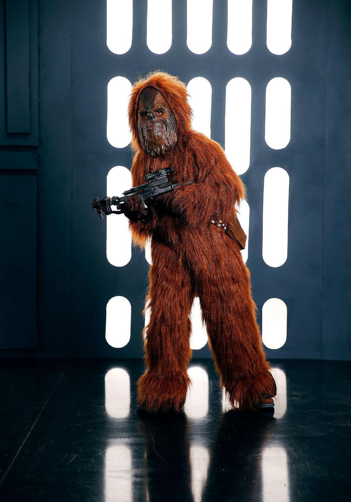 Chewbacca Deluxe Wars Child 4T