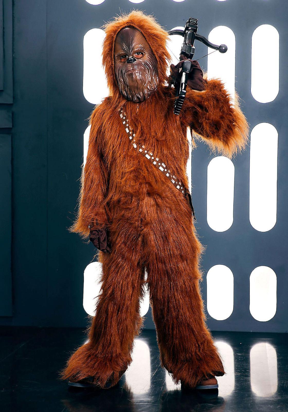 Chewbacca Deluxe Wars Kids Child 4T 3