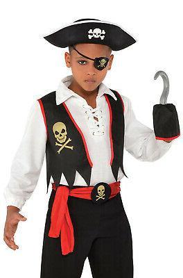 Amscan Child Pirate Buccaneer Costume Kit