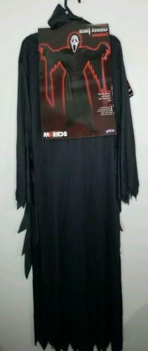 Fun World Child's Scream Ghost Face Halloween Costume One Si