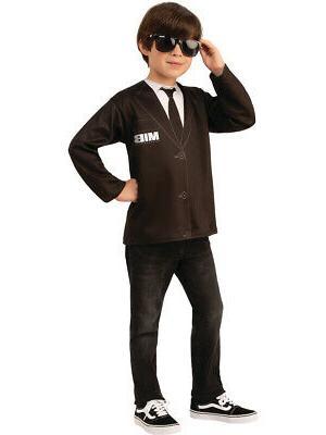 childs men in black mib agent costume