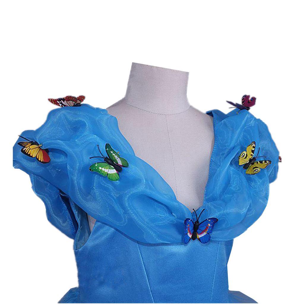 Cinderella Butterfly Dress kids for girls Y