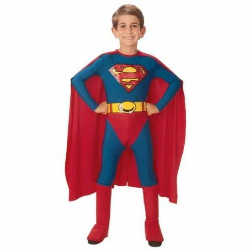 classic superman super hero kids size s