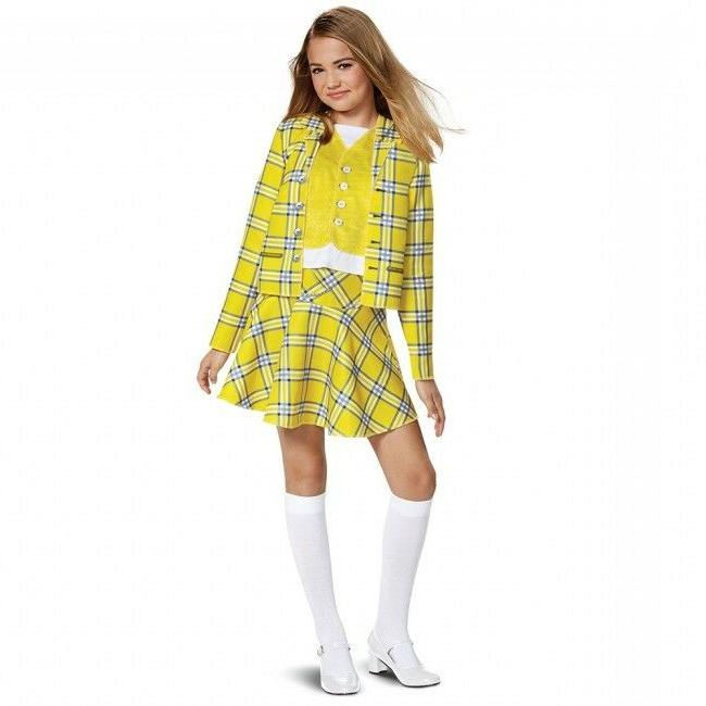 Disguise Clueless Cher Suit Classic Movie Child Girls Hallow
