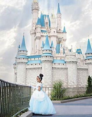 Comfortable even in Cinderella-style dress Princess costume