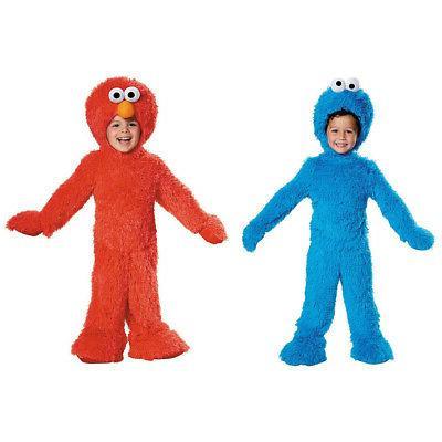 cookie monster elmo costume plush kids child