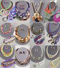 40 PC  WHOLESALE LOT COSTUME / FASHION JEWELRY NECKLACE EARR