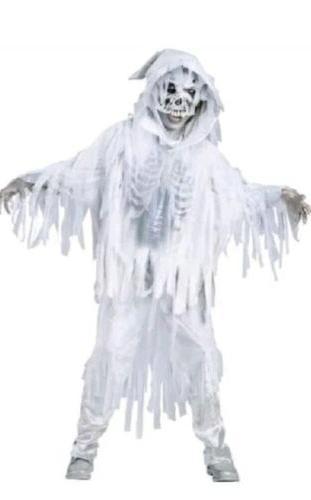 costumes kids sz 6 white haunting spirit